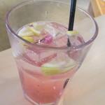 104787200 - 桜&レモンスカッシュ