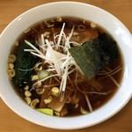 ワンポイント - 「ワンポイントラーメン(醤油味)」530円