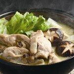 今井屋茶寮 - コラーゲンたっぷり 水炊き鍋
