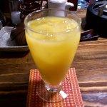 俺のもつ鍋とハンバーグの店 キセキ - マンゴスティンオレンジ
