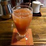 俺のもつ鍋とハンバーグの店 キセキ - 巨峰オレンジ