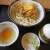 新川うどん店 - 料理写真:「天玉うどん」