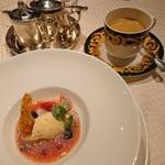 アンシャンテ - 本日のデザート コーヒー