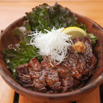 OUTDOOR CAFE MEER LOUNGE - 【ランチ】ステーキ丼