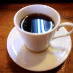 寿司鉄 - 寿司鉄 @平和台 ランチに付く食後のコーヒー matamata pinboke jyan