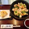 讃岐屋 雅次郎 - 料理写真:海老と揚げ餅のぶっかけ