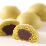 串家物語 - 抹茶の蒸し饅頭白