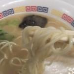104820157 - 「久留米」らしい麺です