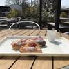マナレイア - 料理写真:今回もテラスで!早春の朝日を浴びて(2019.4.1)