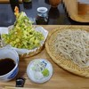 そば好きの店 岩 - 料理写真:天もり1100円