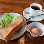 ポテト - 料理写真:モーニング 360円