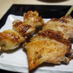 串と水炊博多松すけ - 『松すけ厳選 串焼き六本セット』1,480円。