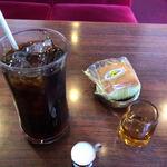 ポンド - ドリンク写真:アイスコーヒー(400円)