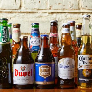 世界各国のビール&ウィスキーなど、多彩なラインナップでお届け