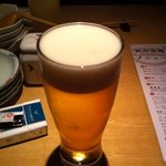 ひとはし - ビール