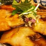中華そば 東京ぐれっち - 限定の、国産二種の煮豚そば
