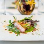 リストランテ・イ・ルンガ - 真鯛のカルパッチョ