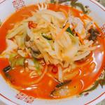 新雪園 - 辛口チャンポン麺 840円