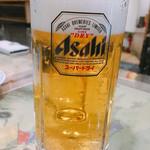 新雪園 - 生ビール 600円
