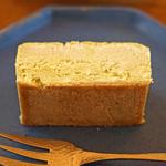 喫茶葦島 - 朝宮煎茶チーズケーキ