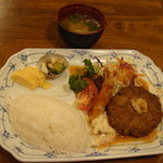 10484111 - 和風ハンバーグ定食730円