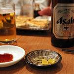 中華キッチン ぐら - ビールはスーパードライだった。<2011_11>