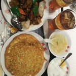 梅蘭 - Aセット➕酢豚➕烏竜茶