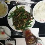 梅蘭 - 青椒肉絲セット