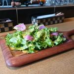 鉄板串 燻製 MOKU - モリモリいろどりサラダ