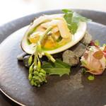 メシモ - 料理写真:ハマグリ、金目鯛