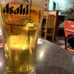 104859540 - 生なビール (ジョッキ)¥390だよ〜、わ〜い
