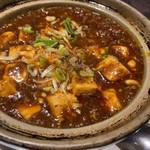 104859654 - 麻婆豆腐(¥690)花山椒が効いたシビれるタイプ...
