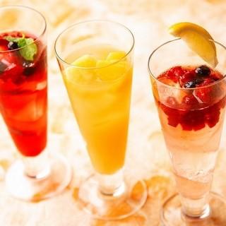 特製日本酒サングリア~桜酵母の日本酒仕立て~
