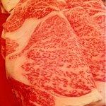 しゃぶしゃぶすきやきと会席料理 ぶどうや - 特選武蔵コースの肉