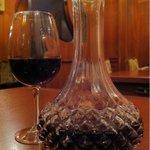 しゃぶしゃぶすきやきと会席料理 ぶどうや - デキャンタ 赤ワイン