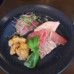 Korosseonakameguro - 前菜盛合せ