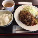 東京厨房 - 豚辛味焼き定食