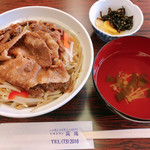 レストラン真珠 - 料理写真:焼肉丼(出前ver.)