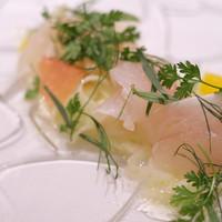 リストランテ カッパス-鮮魚のマリネ 柑橘とともに