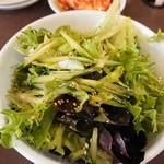 Yakinikukokokara - ここからサラダ(ネギ抜き)