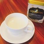 カフェ&シーフードバルべセル - アールグレイ風味のパンナコッタ