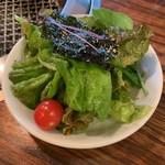 104869456 - 韓国風サラダ