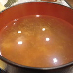 魚佐 - 味噌汁