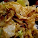らーめん 晴 - 汁なし鉄板担々麺