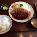 とん吉 - 味噌かつ定食
