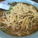 梅光軒 - みそらーめんの麺