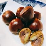 イシイの甘栗 - 料理写真:甘栗 アップ