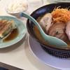 くるまやラーメン - 料理写真:ねぎ味噌チャーシューと餃子
