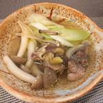 遠山 - すっぽん丸鍋(取り分け)