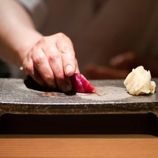 江戸前寿司の神髄を極めた珠玉の握り